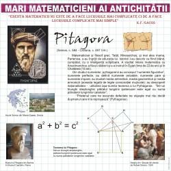 Mari matematicieni - Pitagora