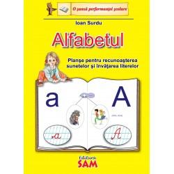 Planse Alfabetul pentru recunoasterea sunetelor si invatarea  literelor