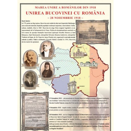 Unirea Bucovinei cu Romania la1918