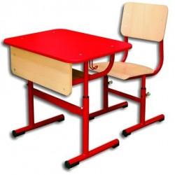 Banca scolara individuala reglabila cu scaun - ELIZA