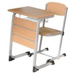 Banca scolara individuala cu scaun-GIMNAZIAL