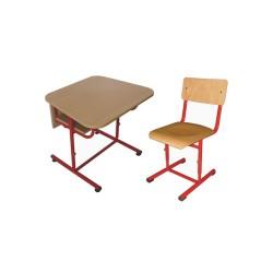 Set mobilier scolar reglabil VLADY
