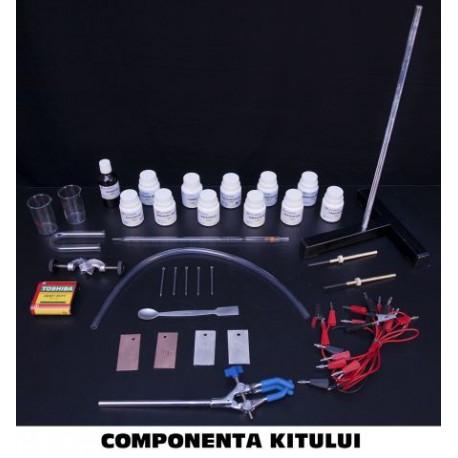 KIT – Electroliza. Pile electrice- Liceu