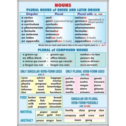 Nouns plural. Nouns latin &greec origin / Rules of reading vowels 1