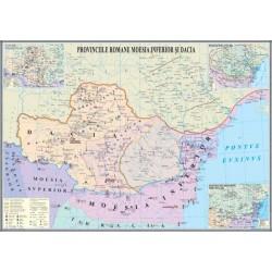 Provinciile romane Moesia Inferior si Dacia