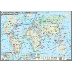 Harta Marile descoperiri geografice