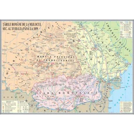 Tarile Romane de la mijlocul sec. al XVIII-lea pana la 1859