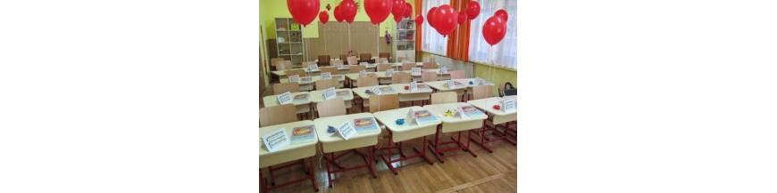 Mobilier scolar clasa pregatitoare si clasele I-IV