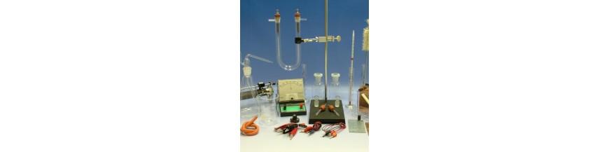 Truse laborator chimie, Kituri, Module