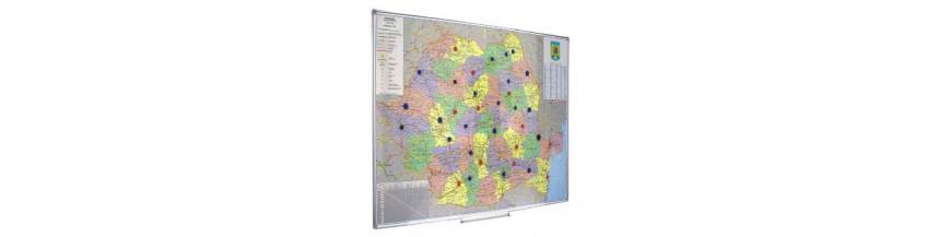 Harti geografice magnetice