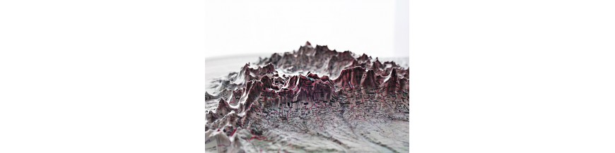 Harti geografice in relief (3D)