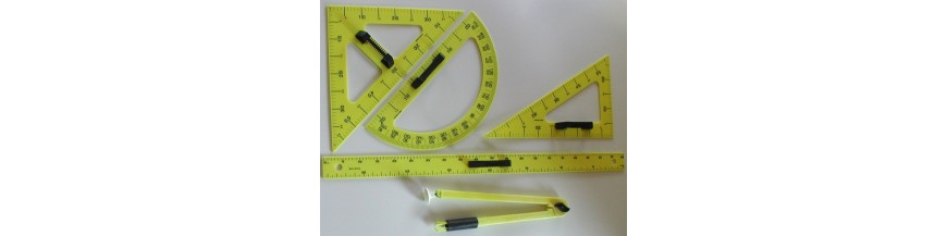 Instrumente de lucru la tabla