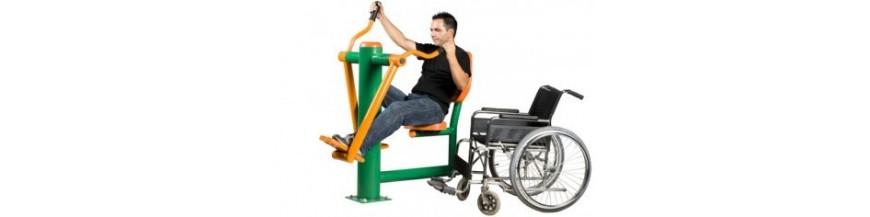 Aparate fitness pentru persoane cu dizabilitati