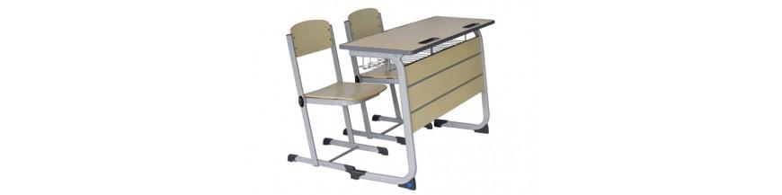 Mobilier scolar dublu (set)