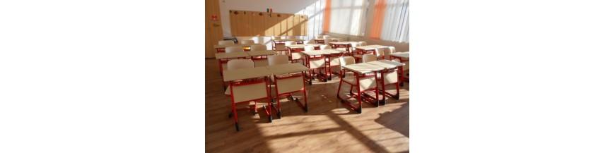 Mobilier scolar individual pentru liceu
